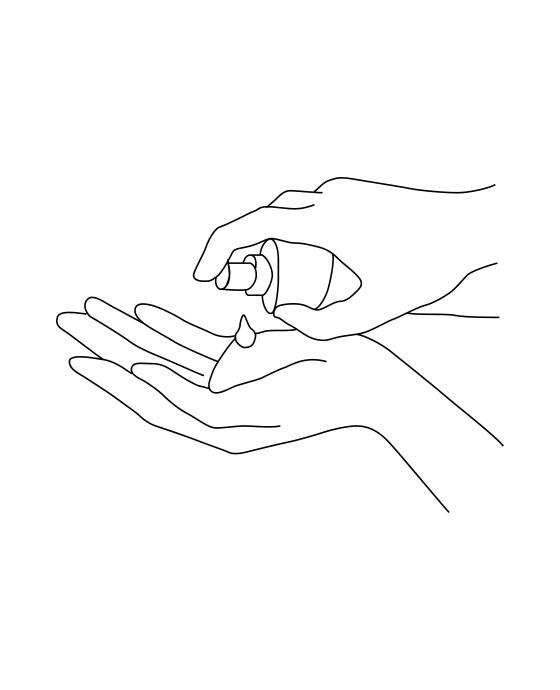 HAKUメラノフォーカスVの使い方 step01